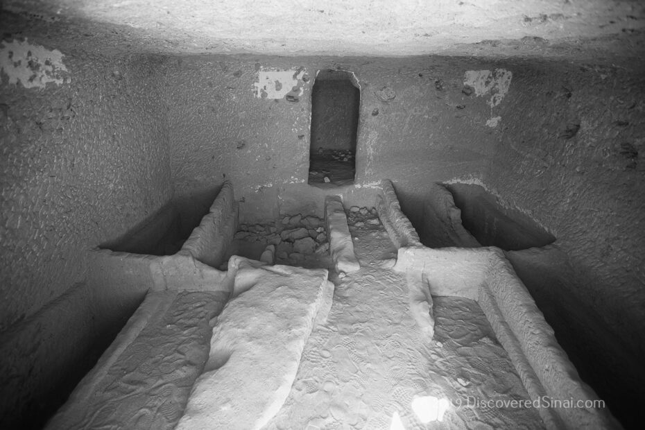 Tombs of Al-bad' - home of Jethro in NW Saudi Arabia (land of Midian)