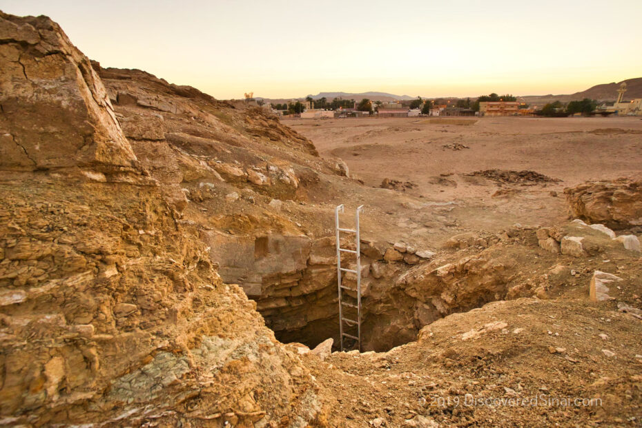 Well of Moses in Al-bad' - home of Jethro in NW Saudi Arabia (land of Midian)
