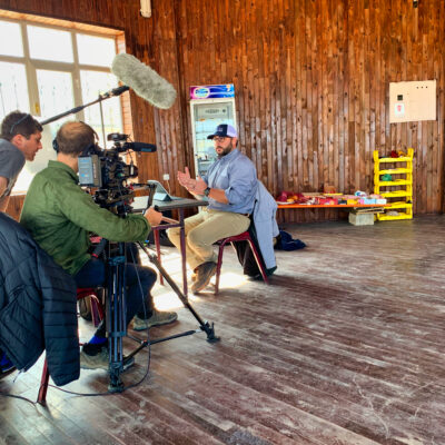 Discovery Channel filming