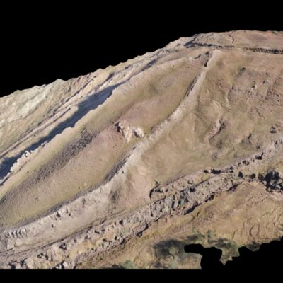 Drone photogrammetry results