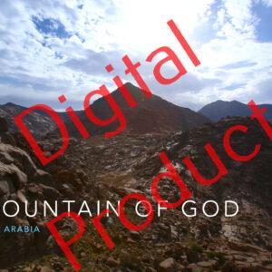 The Mountain of God Mount Sinai photo tour - digital photo book