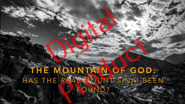 The Mountain of God (Mount Sinai) presentation