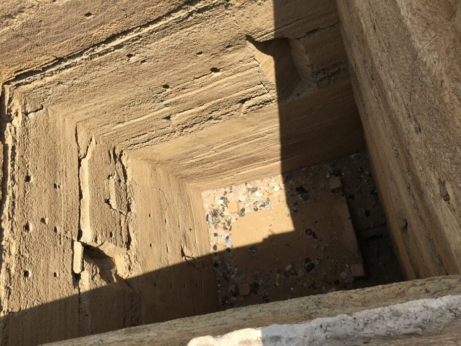 Grain bins of Joseph at Saqqara