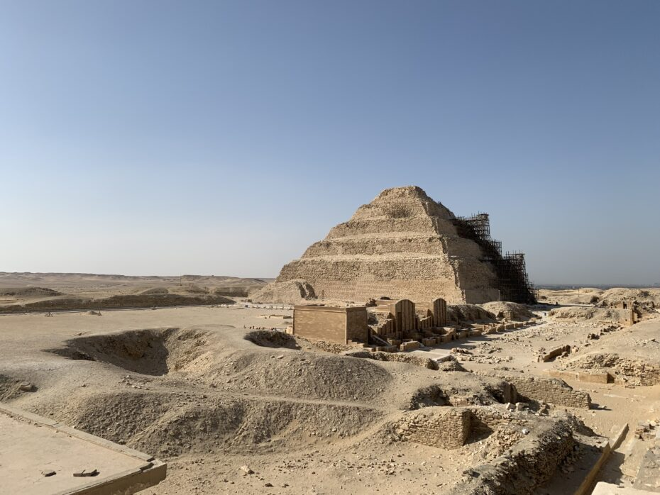 Step Pyramid of Djoser (Joseph) at Saqqara
