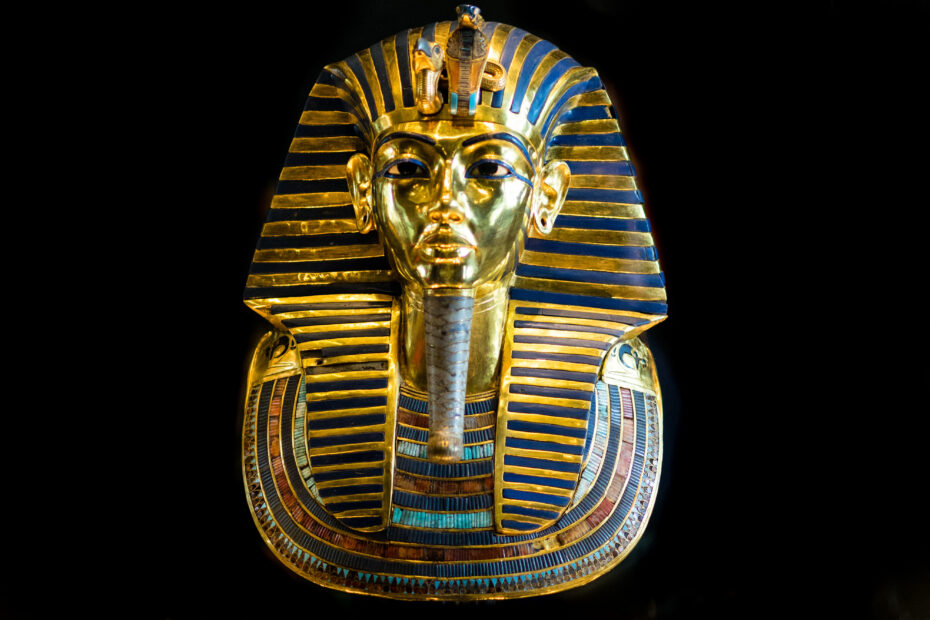 By Mark Fischer - King Tut Burial Mask, CC BY-SA 2.0, https://commons.wikimedia.org/w/index.php?curid=82924893
