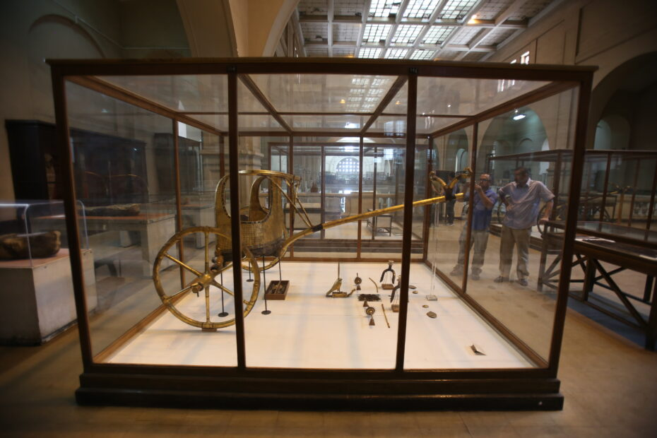 Cairo Egyptian Museum Chariot