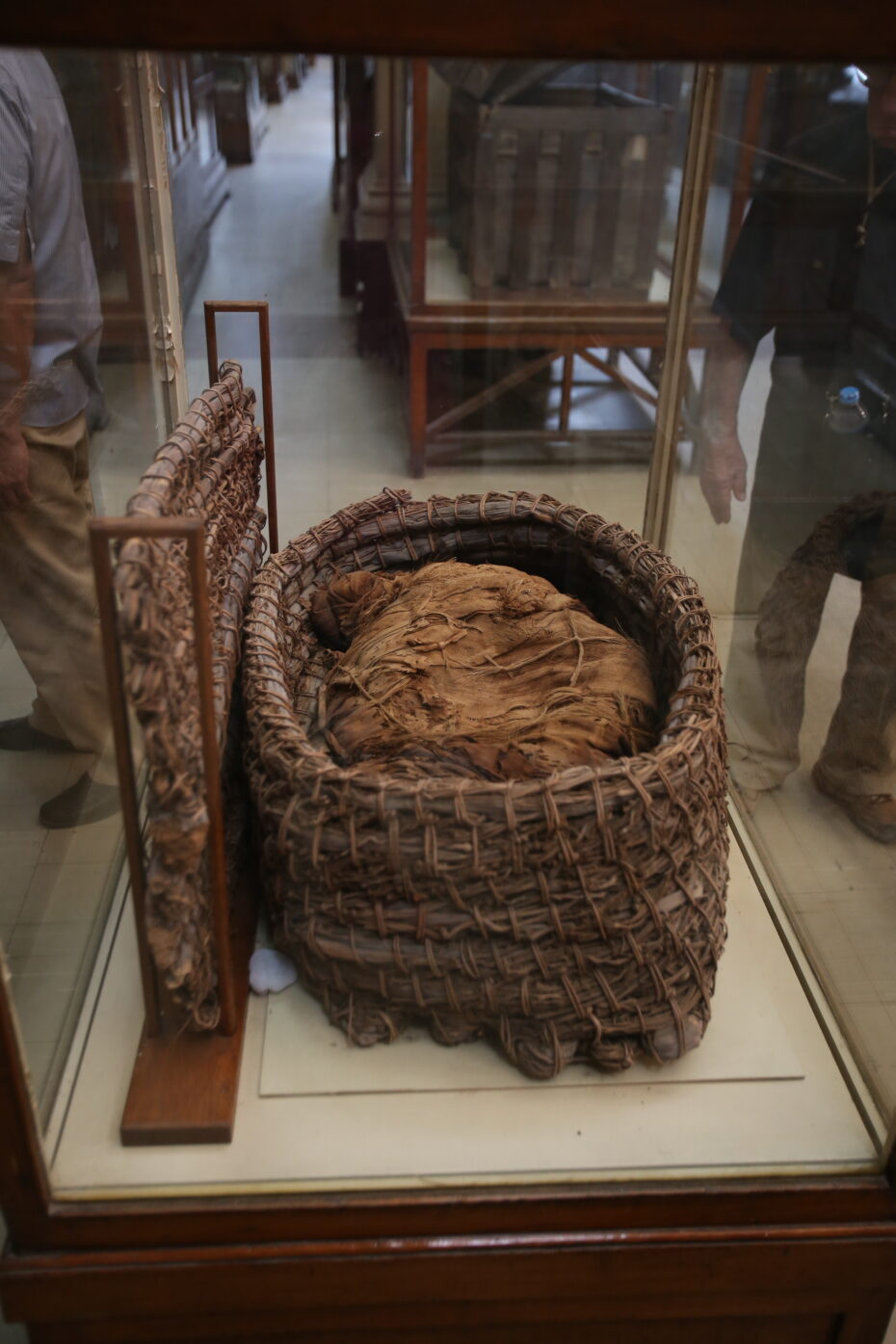 Cairo Egyptian Museum basket